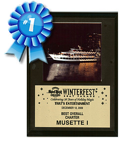 2009 Winterfest Award for Best Charter - Musette Charter